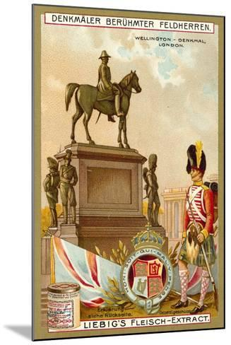 Wellington Monument, London--Mounted Giclee Print