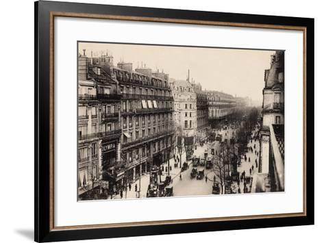 The Olympia Theatre, Boulevard Des Capucines, Paris, 1910--Framed Art Print