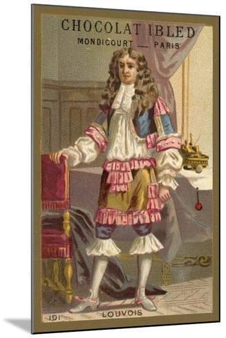 Francois Michel Le Tellier, Marquis De Louvois, French Statesman--Mounted Giclee Print