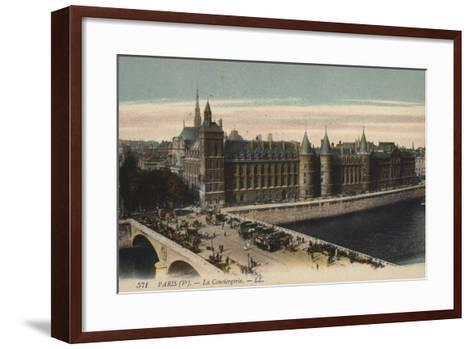 Paris, La Conciergerie--Framed Art Print