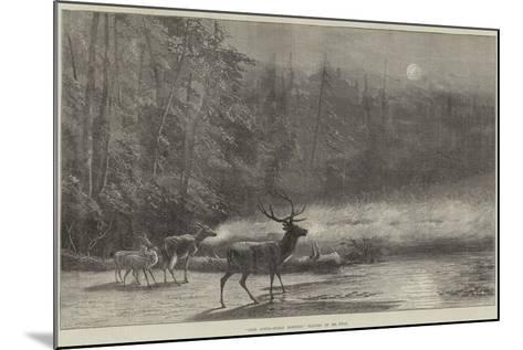 Lake Scene, Early Morning--Mounted Giclee Print