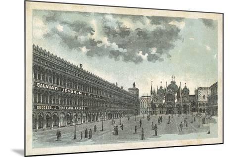 Premises of Salviati Jesurum and Co, Venice--Mounted Giclee Print