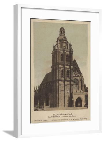 Blois, Cathedrale--Framed Art Print
