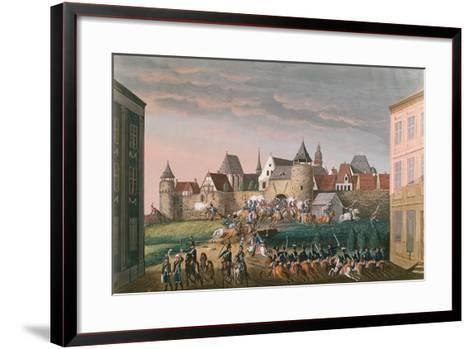 Rush of Imperial Troops at Hoscht, 28th August 1800--Framed Art Print