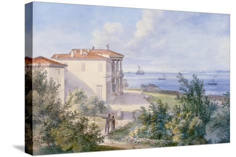 Villa Murat, Campo Marzio in Trieste, 1820--Stretched Canvas Print