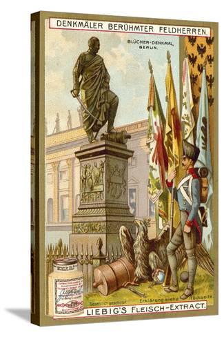 Blucher Memorial, Berlin--Stretched Canvas Print