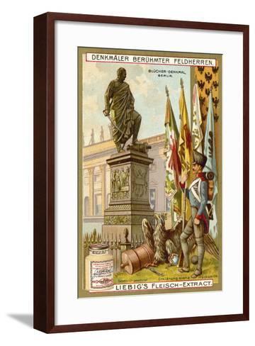 Blucher Memorial, Berlin--Framed Art Print