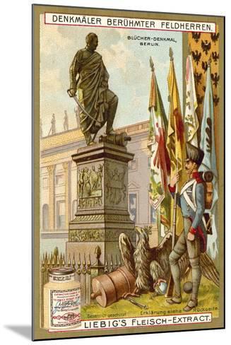 Blucher Memorial, Berlin--Mounted Giclee Print