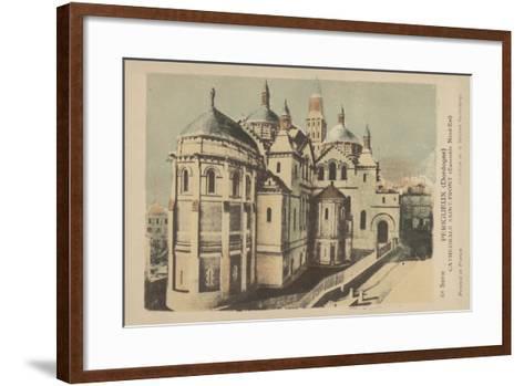 Perigueux, Dordogne, Cathedrale Saint-Front--Framed Art Print
