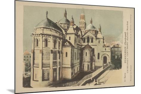 Perigueux, Dordogne, Cathedrale Saint-Front--Mounted Giclee Print