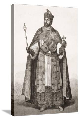 Charles V, Holy Roman Emperor, from 'L'Univers Illustré', 1866--Stretched Canvas Print