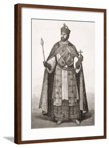 Charles V, Holy Roman Emperor, from 'L'Univers Illustré', 1866--Framed Art Print