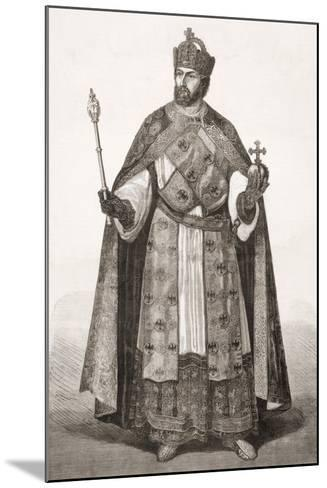 Charles V, Holy Roman Emperor, from 'L'Univers Illustré', 1866--Mounted Giclee Print