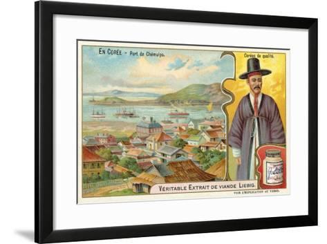 Port of Jemulpo, Korea--Framed Art Print