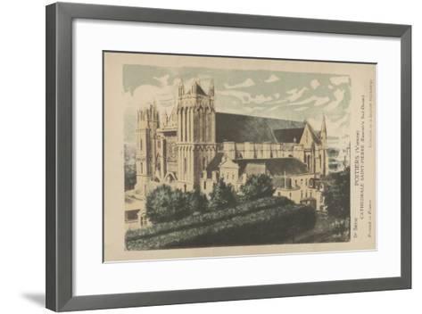 Poitiers, Vienne, Cathedrale Saint-Pierre--Framed Art Print