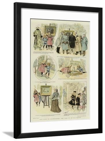 Our Visit to Grandfather, the Tale of an Old Master--Framed Art Print