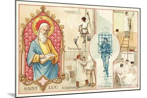 St Luke, Patron Saint of Artists and Doctors--Mounted Giclee Print