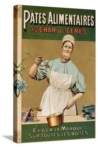 Advertisement for 'Au Char De Ceres' Pasta, C.1900--Stretched Canvas Print