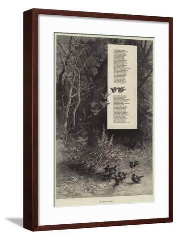 The Morning Bath--Framed Art Print
