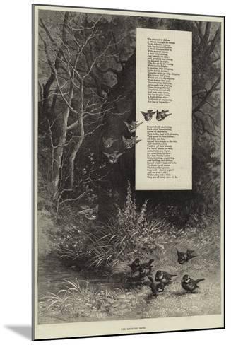 The Morning Bath--Mounted Giclee Print