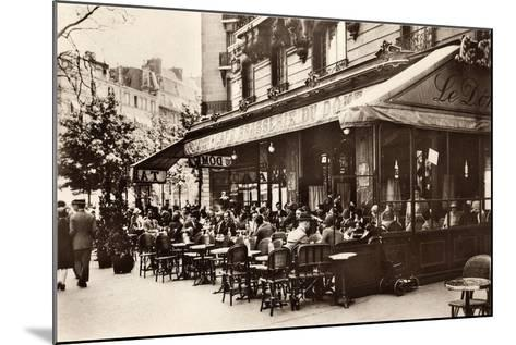 Brasserie Cafe Du Dome, Paris, 1920--Mounted Giclee Print