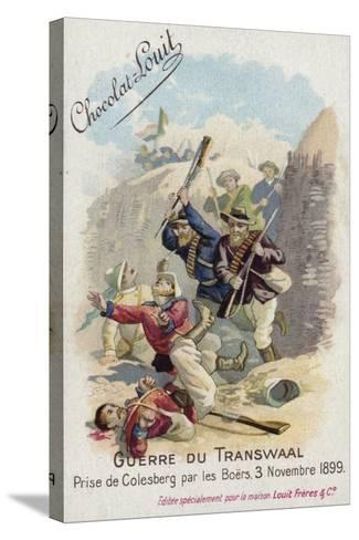 Capture of Colesberg by the Boers, 3 November 1899--Stretched Canvas Print