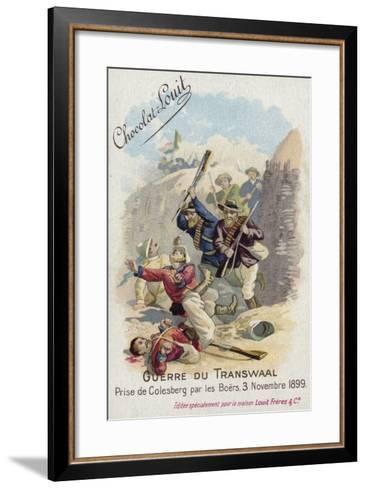 Capture of Colesberg by the Boers, 3 November 1899--Framed Art Print