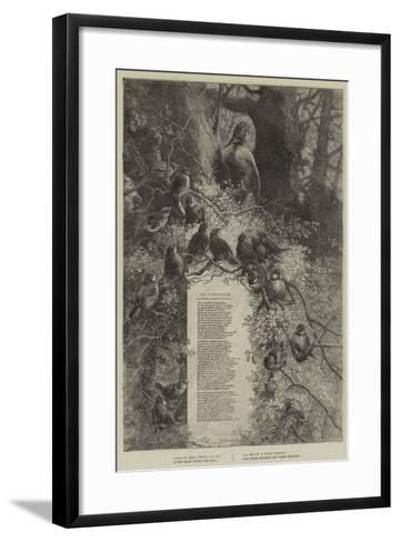 The Woodpecker--Framed Art Print