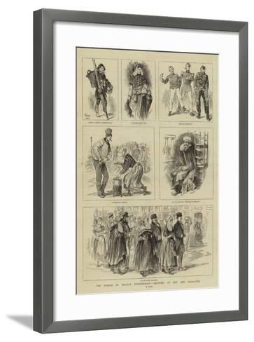 The Jubilee of Belgian Independence, Sketches of Life and Character--Framed Art Print