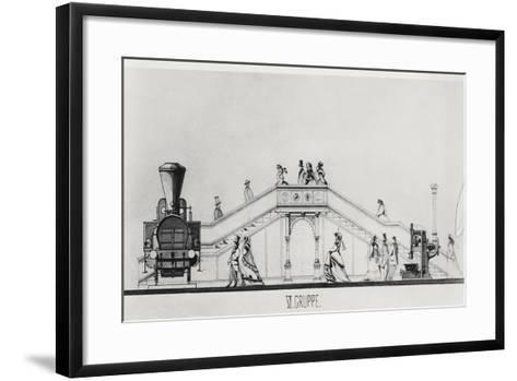 The Austrian Pavilion at the Exposition Universelle of 1867--Framed Art Print