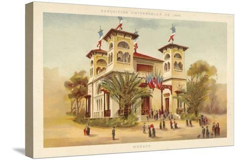 Pavilion of Monaco, Exposition Universelle 1889, Paris--Stretched Canvas Print