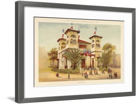 Pavilion of Monaco, Exposition Universelle 1889, Paris--Framed Art Print