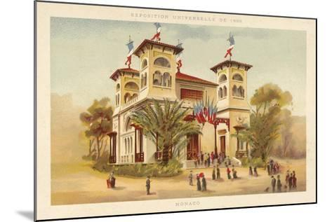 Pavilion of Monaco, Exposition Universelle 1889, Paris--Mounted Giclee Print