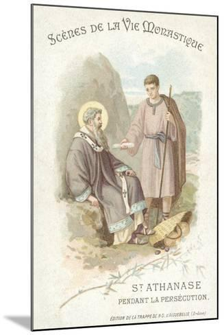 St Anathasius During the Persecution of Christians--Mounted Giclee Print