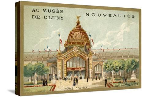 Central Dome, Exposition Universelle, Paris, 1889--Stretched Canvas Print