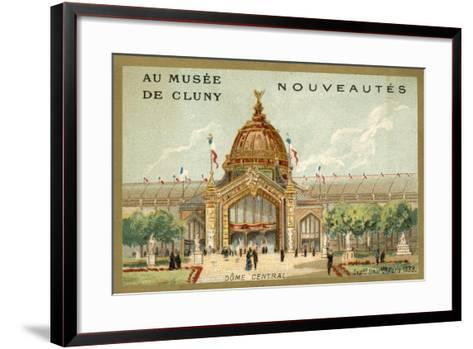 Central Dome, Exposition Universelle, Paris, 1889--Framed Art Print