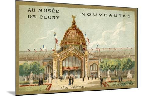 Central Dome, Exposition Universelle, Paris, 1889--Mounted Giclee Print