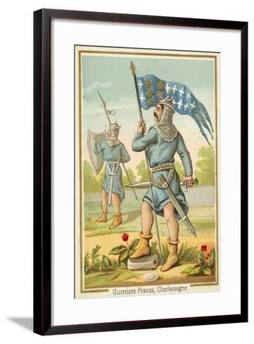 Frankish Warriors of the Time of Charlemagne--Framed Art Print