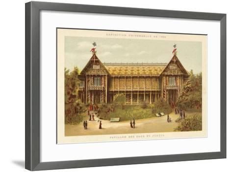 Pavilion of Waters and Forests, Exposition Universelle 1889, Paris--Framed Art Print