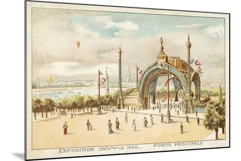 Main Gate, Exposition Universelle 1900, Paris--Mounted Giclee Print