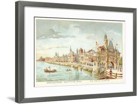 Old Paris, Exposition Universelle 1900, Paris--Framed Art Print