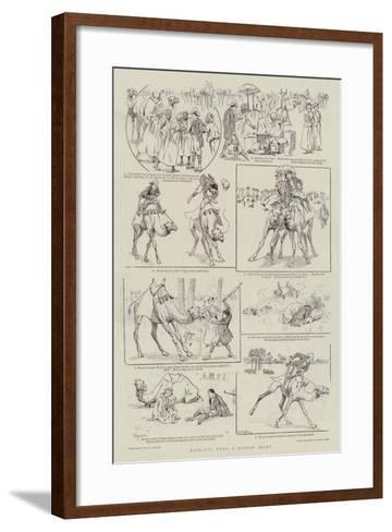 Extracts from a Desert Diary--Framed Art Print