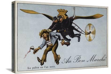 The Police in the Year 2000--Stretched Canvas Print