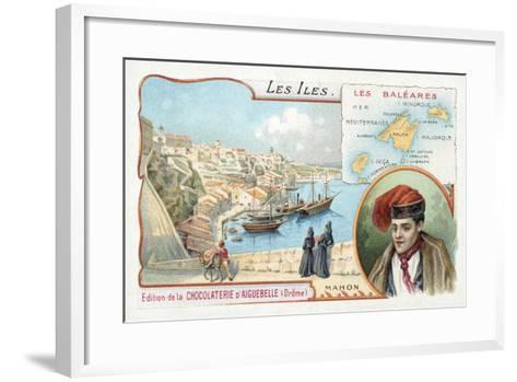 Mahon, Minorca, Balearic Islands--Framed Art Print