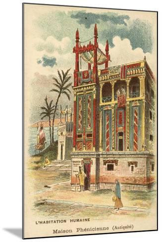Ancient Phoenician House--Mounted Giclee Print