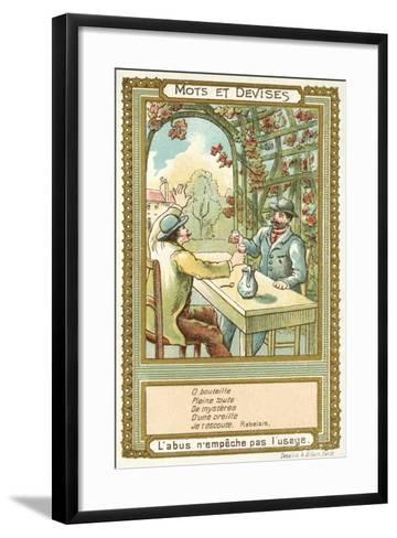Abuse Does Not Preclude Proper Use--Framed Art Print