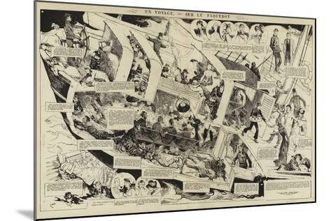 En Voyage, Sur Le Paquebot--Mounted Giclee Print