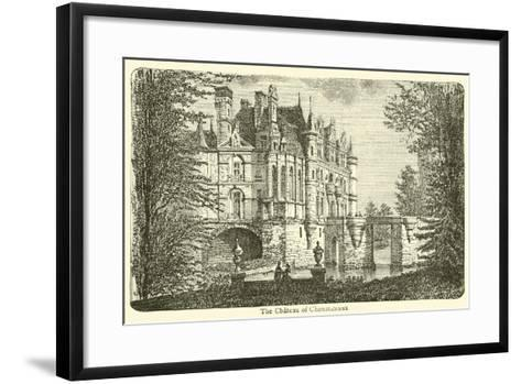 The Chateau of Chenonceaux--Framed Art Print