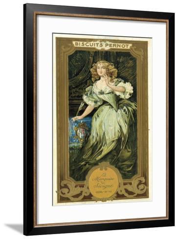 Marquise De Sevigne, French Writer--Framed Art Print