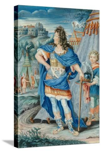 French Noble in Medieval Costume--Stretched Canvas Print